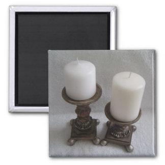 Classy Candlesticks Magnet