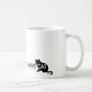 Classy Cat I HAVE CAT Mug