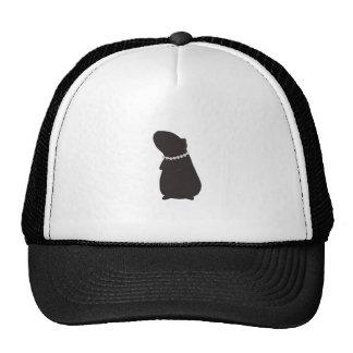 Classy Cavy: Piggie and Pearls Trucker Hat