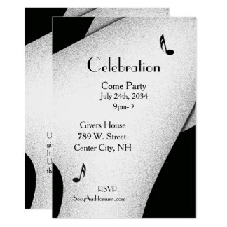 Classy Celebration Party Invitation