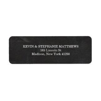 Classy Chalkboard Style Address Labels