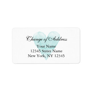 Classy change of address labels for new home