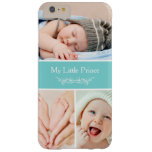 Classy Chic Baby Kids Photo Collage Barely There iPhone 6 Plus Case