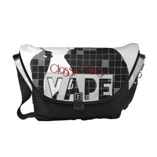 Classy Chics Vape Checkerd Pattern Messenger Bag