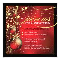 Classy Christmas Party Invitation