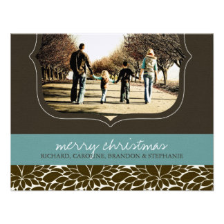 Classy Christmas Photo Card Personalized Invitation