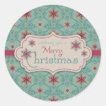 Classy Christmas Sticker 2