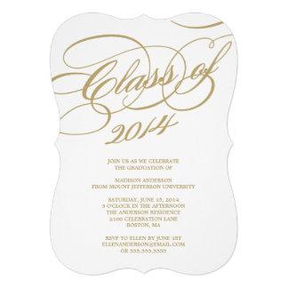 Classy Class of 2014 | Graduation Party Invitation