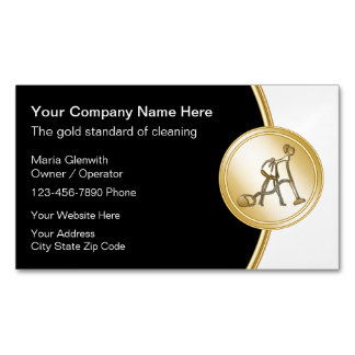 Classy Cleaning Business Card Magnets
