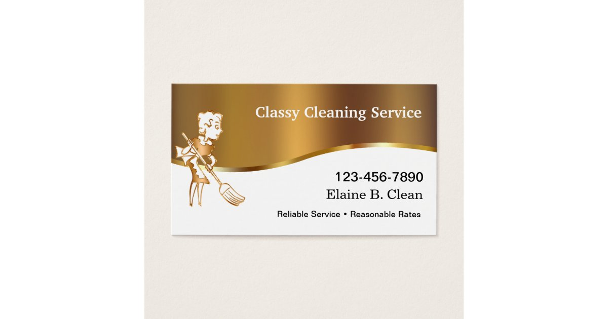 Maid Service Business Cards Best 25 Cleaning Business Cards.Luxury ...