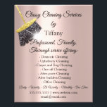 "Classy Cleaning Services House Keeping Residencial Flyer<br><div class=""desc"">florenceK dedicated for Tiffany collection</div>"