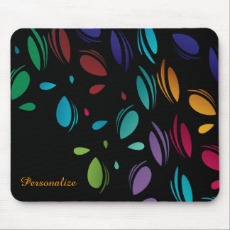 Classy Colorful Pedals Mouse Pad