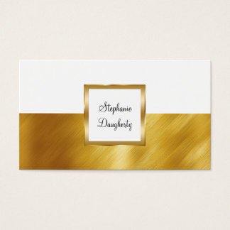 Classy Consultant Business Card