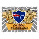 Classy Cook Island Greeting Card