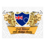 Classy Cook Island Post Card