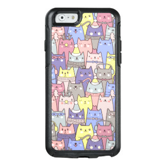 Classy Cool Christmas Funny Cats iPhone 6/6s Case