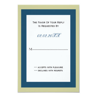 classy Corporate party Invitation rsvp cards
