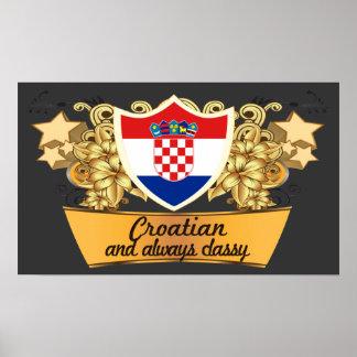 Classy Croatian Poster