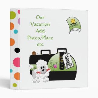 Classy Custom Vacation Binder