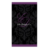 Classy Damask Business Card