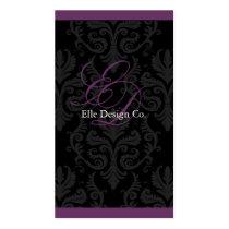 Classy Damask Business Card