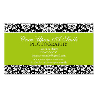 Classy Damask Business Cards