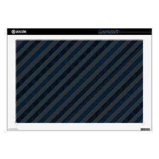 Classy Dark Aqua & Navy Blue - Custom Laptop Skin