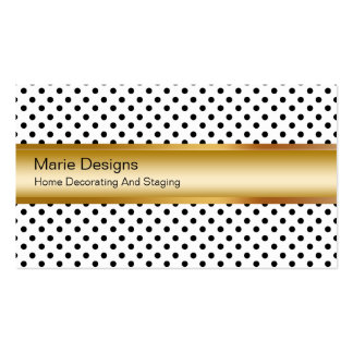 Classy Decorating Business Cards
