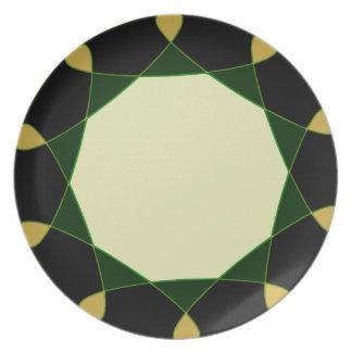 Classy Design Black & Yellow Fujifilm Plate
