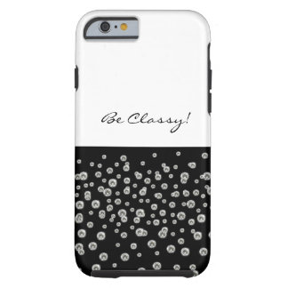 Classy Diamonds Tough iPhone 6 Case