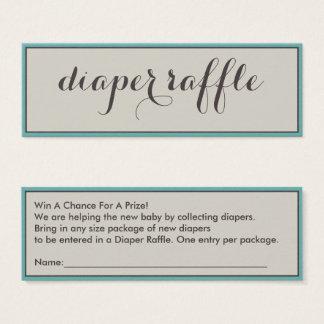 Classy Diaper Raffle Tickets