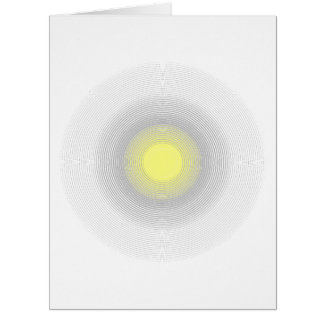 Classy Digital Minimalist Sunshine. Card