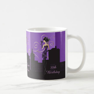 Classy Diva Birthday or Bachelorette Girl | Purple Coffee Mug