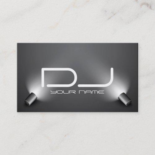 Dj business cards dj stuff classy dj business card colourmoves