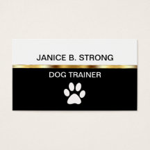 Dog training business cards templates zazzle colourmoves