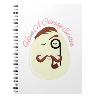 Classy Easter Spiral Notebooks