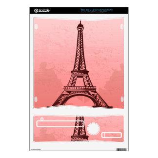 Classy Eifel Tower Skin For The Xbox 360 S