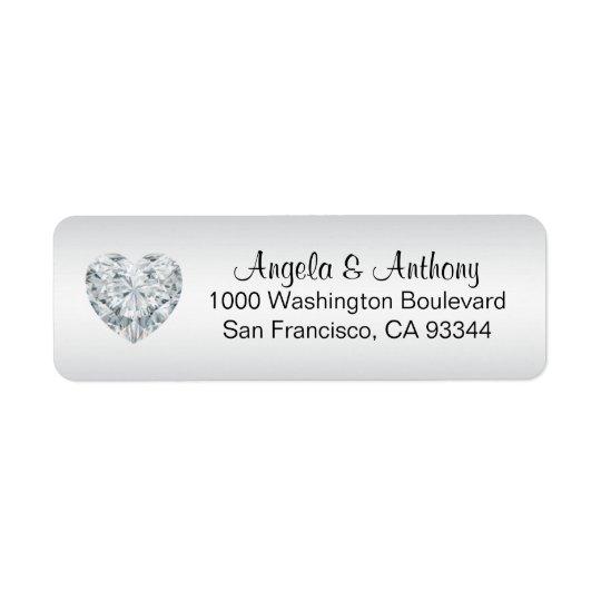 silver address labels