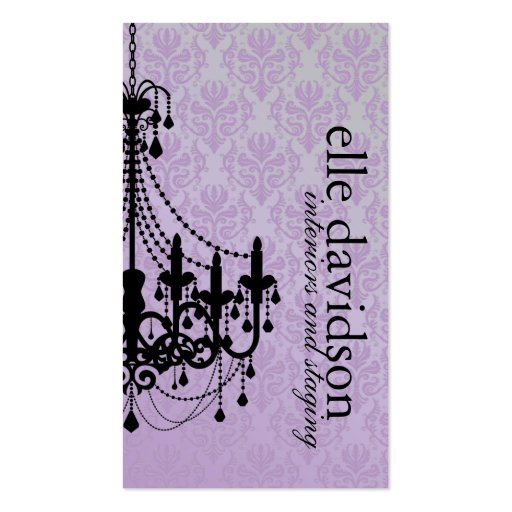 Classy Event Planner Business Card