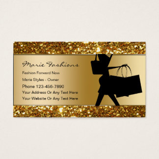 Clothing business cards templates zazzle for Business card for clothing boutique