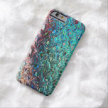 Classy Fashionable Blue Gel iPhone 6 case