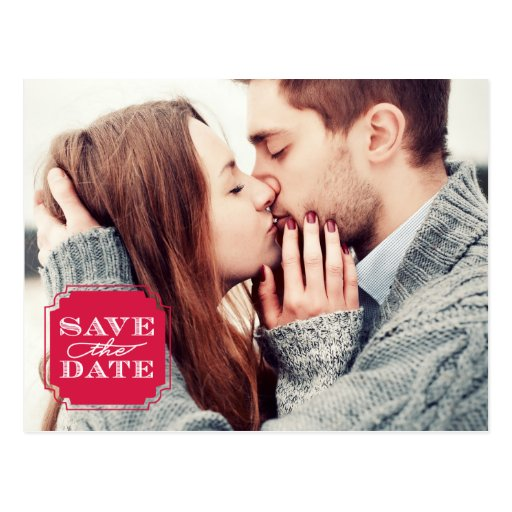 letter stamp frame save the date postcard zazzle 23154