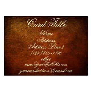 Classy Genuine Leather Designer Business Cards