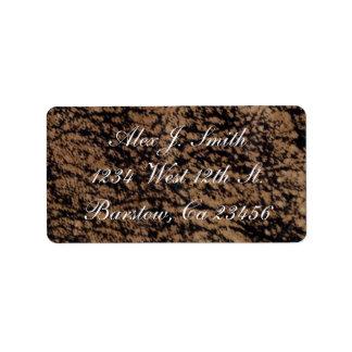 Classy Genuine Leather Designer Label