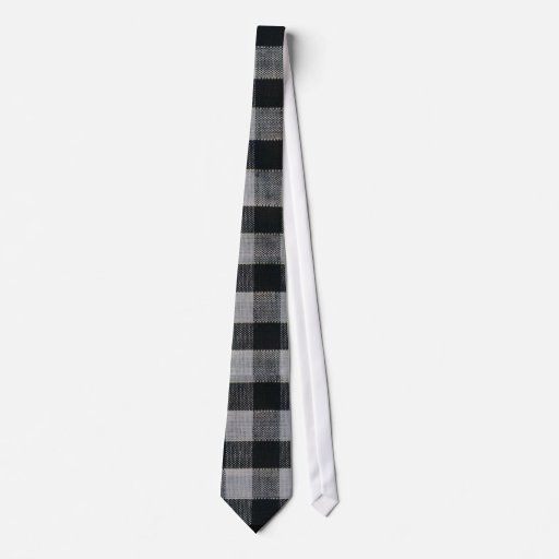 Classy Gingham TRENDY GIRL Necktie