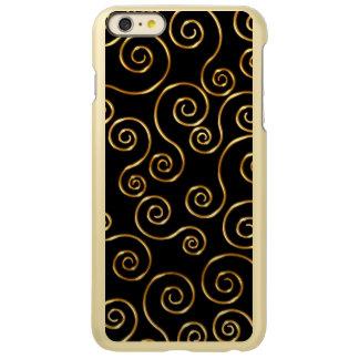 Classy Gold And Black Incipio Feather® Shine iPhone 6 Plus Case