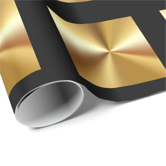 classy gold and black wrapping paper. Black Bedroom Furniture Sets. Home Design Ideas