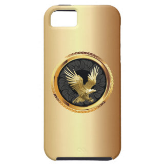 Classy Gold Eagle Badge iPhone 5 Case