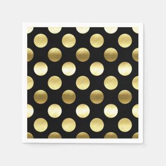 yellow dress ith red polka dots napkins