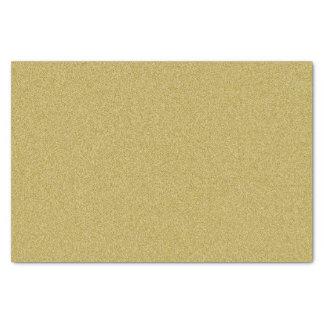 "Classy Gold Glitter 10"" X 15"" Tissue Paper"